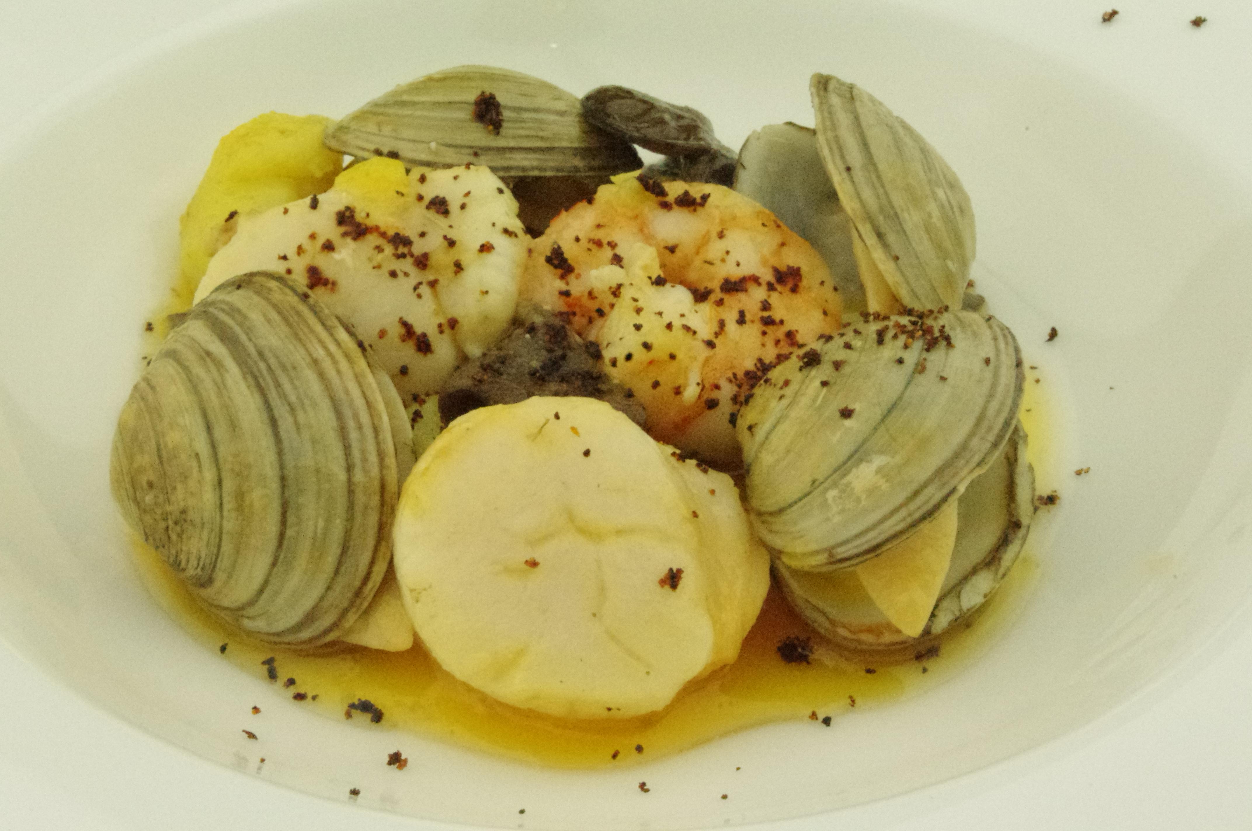 Seafood buuro